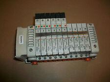 SMC Pneumatic Valve Manifold w/ VVQ1000-10A-1  &   VQC1100N-5