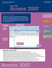 Microsoft Office Access 2007 Course Notes (Course Notes Quick Reference Guides)