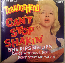 "Teenage Head • Can't Stop Shakin' • DIANA DORS Cover Art • 12"" EP LP • FREE S/H!"