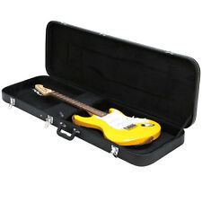 New Universal Electric Bass Guitar Hard-Shell Case w/ Full Neck Support