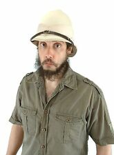 British Pith Soldier Safari Child Kids & Adult Costume Helmet Hat New Elope