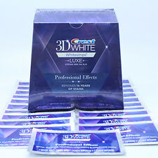 Crest3D Professional Effects Bandes Blanches Blanchiment Dent 20 jours 40 strip