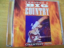 BIG COUNTRY THROUGH A BIG COWNTRY GREATEST HITS CD