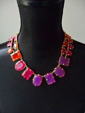 """Kate Spade NWT Colorful """"Coated Confetti"""" Crystal Choker Necklace Nordstrom $178"""