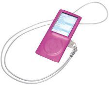 Vivanco Silikon Skin Case Tasche Schutz-Hülle für Apple iPod Nano 4 4G 4. Gen