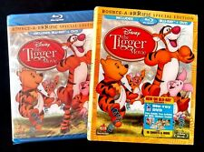 Disney Winnie the Pooh - The Tigger Movie (2-Disc Blu-ray/DVD) New w/Slipcover!