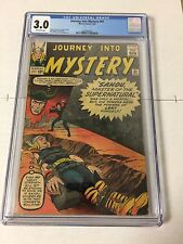 Journey Into Mystery 91 Cgc 3.0 Off-White Pages