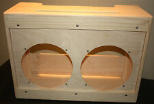 rawcabs wide panel 2x12 suspended baffle cabinet for a marshall JTM 45 chassis