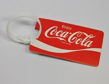 Coca Cola Coke Suitcase Luggage Pendant USA 1980's Luggage Tags