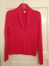 J Crew Ladies Size Small Red Sweater