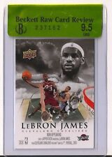 2009-10 NBA Upper Deck #NA-8 Now Appearing Lebron James BGS 9.5