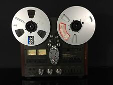 Beautiful Technics 2 Track RS-1500US Reel to Reel Tape Deck Audiophile STUNNING