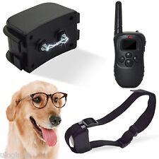 Electric LCD Shock E-Collar Remote Control Dog Training Anti-Bark UK Stock