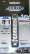 "Shoreline Marine SL52088 White Slim Line 4"" LED Utility Strip Light w/ Pigtail"