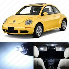 5 x Xenon White LED Interior Light Package For 1998 - 2011 Volkswagen VW Beetle