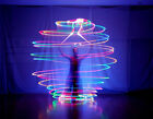 1 Pair LED POI Thrown Balls for Professional Belly Dance Level Hand Props