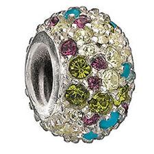 Chamilia Jeweled Kaleidoscope Multicolor Swarovski JC-6 RETIRED NEW Authentic
