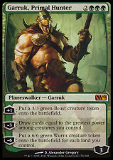 MTG GARRUK, PRIMAL HUNTER EXC - GARRUK, CACCIATORE PRIMITIVO - M12 - MAGIC