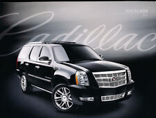 2010 Cadillac Escalade and ESV EXT 36-page Original Car Sales Brochure - Hybrid