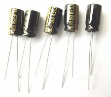 100uf 25v 105c LOW ESR Panasonic EEUFM1E101 Size 11.2mmx6mm  x5pcs