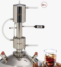 20L Alcohol Distiller Moonshine MAGARYCH MASHKOVSKYI EXPORT reflux additional