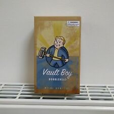 "Fallout VAULT BOY Bobblehead (5"" Size, 2015) ""Melee Weapons"" variant BOXED, NEW!"