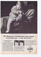 PUBLICITE ADVERTISING 104 1966 Chaussures TINTIN elles sont révolutionnaires