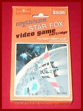 Star Fox by Mythicon for the Atari 2600 System NEW SEALED