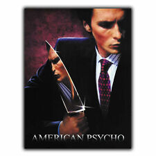 AMERICAN PSYCHO METAL SIGN PLAQUE Retro Film Movie Advert poster print decor