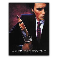 American Psycho Letrero de Metal Placa Retro peli película anuncio cartel Impresión Decoración