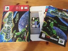 War Gods Complete N64 CIB With Inserts,manual,Box,And Poster Nintendo 64 WarGods
