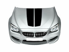 BMW Bonnet Racing Stripes Cars Stickers  Decal Size 45x65 Cm