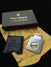 VEUVE CLICQUOT LA GRANDE DAME  CHAMPAGNE CIGAR CUTTER REALLY RARE  NEW BOXED