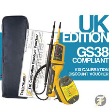 Di-Log DL6780 Voltage & Continuity 2 Pole Tester + Socket Tester + LDMC1 Case
