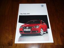 VW Polo GTI Prospekt 10/2008