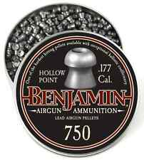 Benjamin Discovery .177 Hollow Point 7.9gr Pellets (750ct)