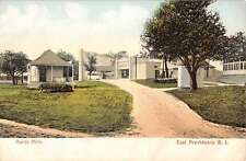East Providence Rhode Island Hunts Mills Street Scene Antique Postcard K23511