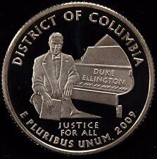 2009-S Territories Quarter District of Columbia Gem Proof DCAM CN-Clad Coin