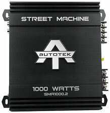 New Autotek SMA1000.2 1000 Watt 2 Channel Amplifier Street Machine Car Audio Amp