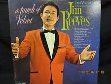 Jim Reeves A Touch of Velvet - RCA Victor