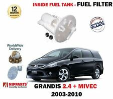 FOR MITSUBISHI GRANDIS 2.4 165BHP 2003-12/2010 NEW IN TANK FUEL FILTER MN158345