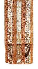 SCARF Long Beige Tan & Brown Reptile Snakes Python SNAKESKIN PRINT