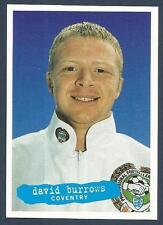 PANINI PFA FOOTBALL 97 #044-COVENTRY-EVERTON-WEST HAM-LIVERPOOL-DAVID BURROWS