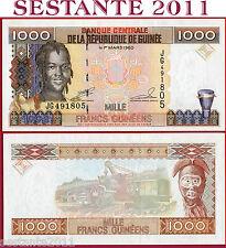 GUINEA - 1000 1.000 FRANCS 1998   -  P 37  -  FDS / UNC