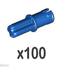 100 Lego AXLE PINS with Friction Ridges (technic,nxt,ev3,connector,mindstorms)