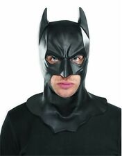 Adult Batman The Dark Knight Rises Full Overhead Latex Mask With Cowl