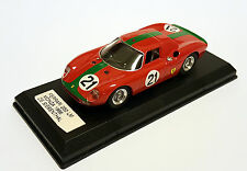 Best Model  FERRARI 250 LM N.21 8th MONZA 1966 DE SIEBENTHAL-PLEIXINHO