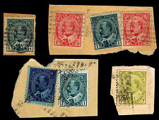 1903-08 CANADA #89-92 - KING EDWARD VII PIECES - USED - F/VF+ - CV$9.25 (E#1970)