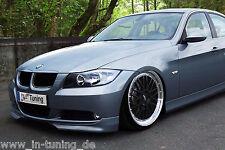 Frontspoiler Frontansatz Spoilerecken aus ABS für BMW E90 E91 3er Vorfacelift