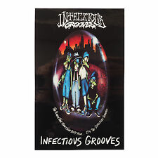 INFECTIOUS GROOVES - PLAGUE STICKER - Official Merchandise - Skate Suicidal